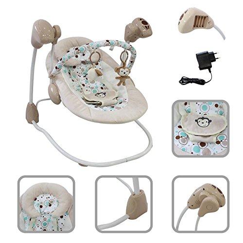 Silla columpio para bebé función Swing Todeco