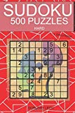 Sudoku 500 Puzzles by Dorothy Lech: Hard with Solutions