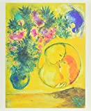 Marc Chagall Sonne und Mimosen Poster Bild Kunstdruck