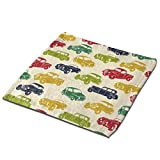 Aeykis Colorful Vintage Cars Multipurpose Hand Towels for Bath Hand Face Washable Zero Waste Towel