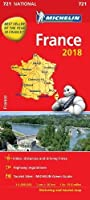 France 2018 National Map 721 2018 (Michelin National Maps)