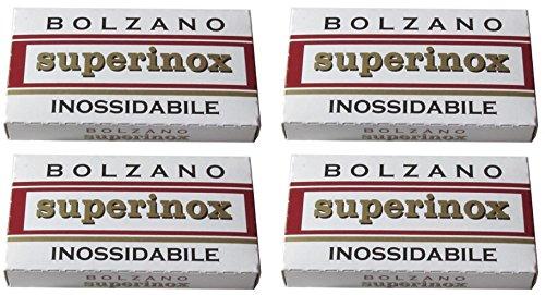20 Bolzano - Superinox Inossidabile Rasierklingen