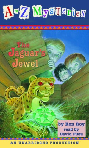 A to Z Mysteries: The Jaguar's Jewel cover art