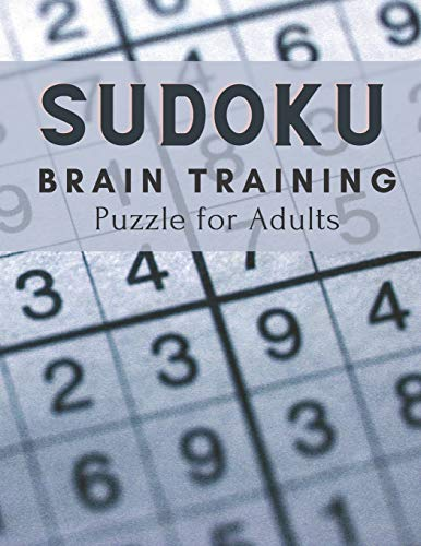 Sudoku Brain Training Puzzle for Adults: 200 + Puzzles Activity Easy Medium Hard for Sudoku Master Training Concentrate Stress Relierf Relaxing