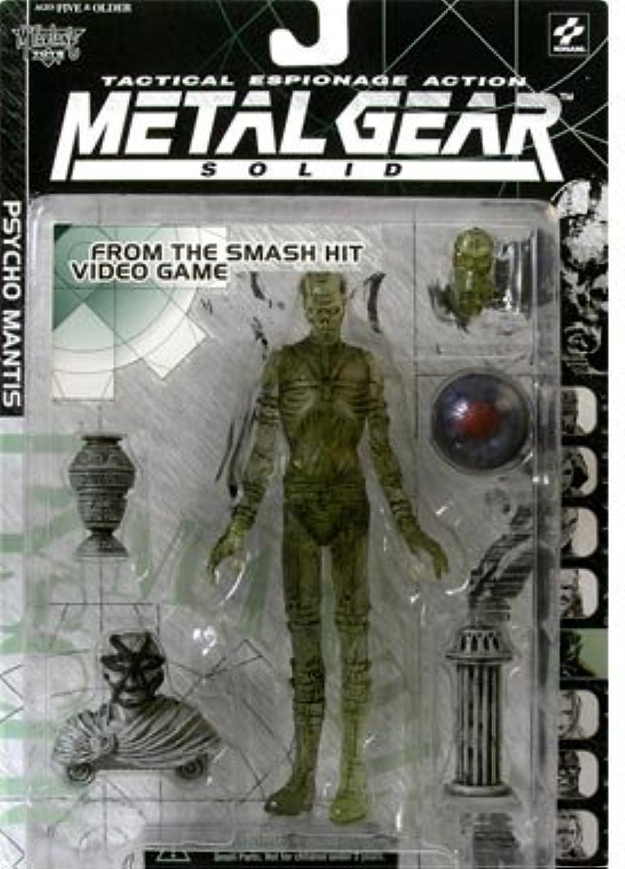 colores increíbles Metal Gear Solid Psycho Mantis (Clear (Clear (Clear Variant) Acción Figura  Hay más marcas de productos de alta calidad.