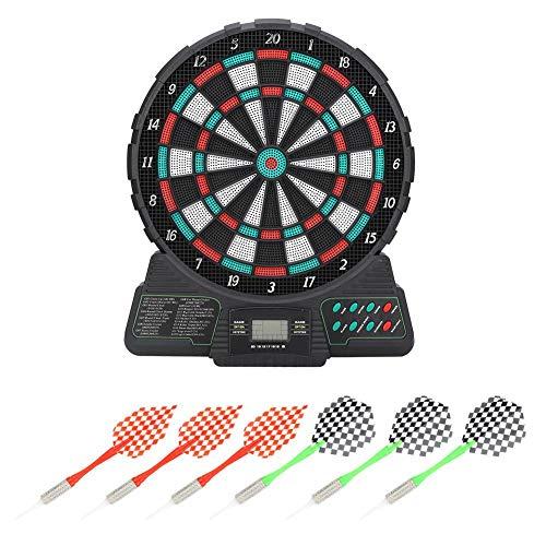 Vbest life Elektronische Dartscheibe Darts, automatische Wertung Dart Tipps Spielzeug Dart Dartscheibe Set Sound Reminding