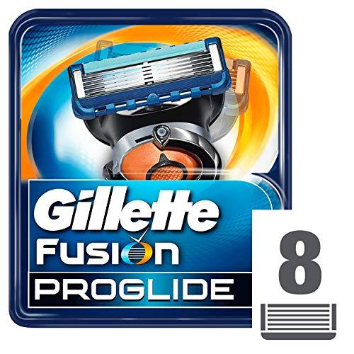 Gillette 010639 Fusion ProGlide - Cuchillas de recambio para maquinilla de afeitar - 8 Unidades