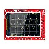 Mini kit de osciloscopio, mini kit de bricolaje de osciloscopio digital Piezas SMD Set de aprendizaje electrónico pre-soldado 1MSa / s 0-200KHz con estuche transparente