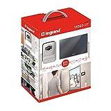 Legrand LEG369220 – Kit ouverture portier avec écran miroir 7'' – Interphone visiophone–...