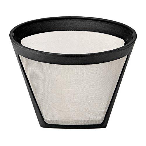 WMF 0412980011 Küchenminis AromaOne Permanent Kaffeefilter-Ersatz, wiederverwendbar, Silber