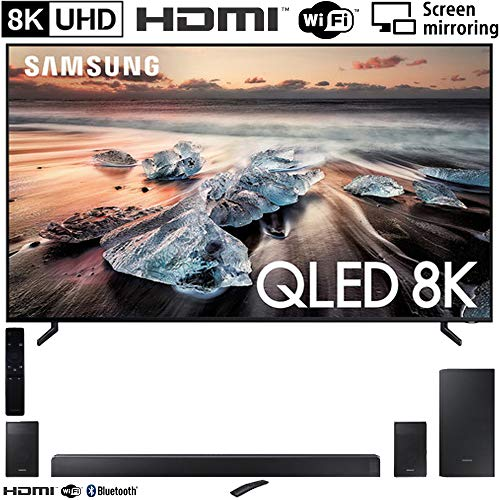 Cheapest Price! Samsung QN82Q900RB 82″ Q900 QLED Smart 8K UHD TV (2019 Model) HW-N950 7.1.4-Channel Basic Soundbar