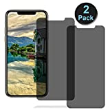 Revontulij Privacy Screen Protectors for iPhone XS/X/iPhone11 Pro...