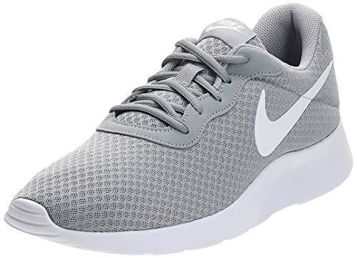 Nike Tanjun, Zapatillas de Running para Hombre, Gris (Wolf Grey/White 010), 40.5 EU
