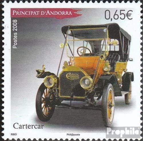 Prophila Collection Andorra - Francese Post 675 (Completa Edizione) 2008 Automobile (Francobolli per i Collezionisti) Traffico Stradale