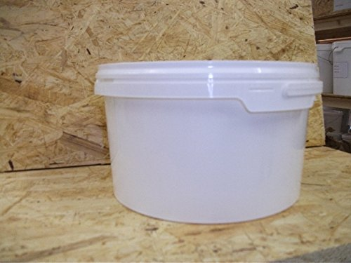 Preisvergleich Produktbild Kunststoff Leereimer sehr stabil mit Deckel 5 Liter