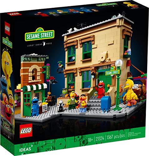 Ideas Lego 21324 - 123 Sesame Street