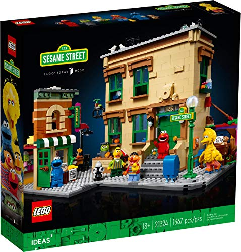 LEGO IDEAS 21324 Barrio Sésamo