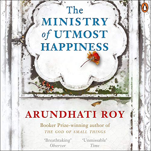 Ministry of Utmost Happiness audiobook cover art