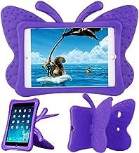 Xboun Butterfly Series EVA Shock Proof Protective Case for Apple iPad Mini 1/ Mini 2/ Mini 3/ Mini 4/ Mini 5 - Purple