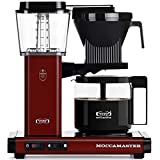 Technivorm Moccamaster 53955 KBG, 10-Cup Coffee Maker, 40 oz, Merlot