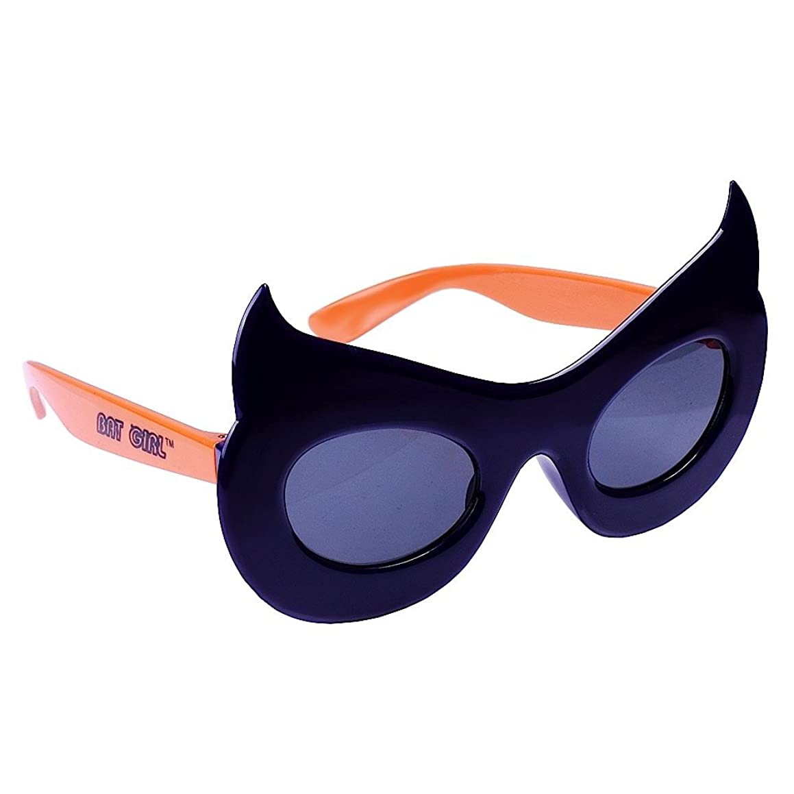 Sun-Staches Costume Sunglasses Lil' Characters Bat Girl Party Favors UV400