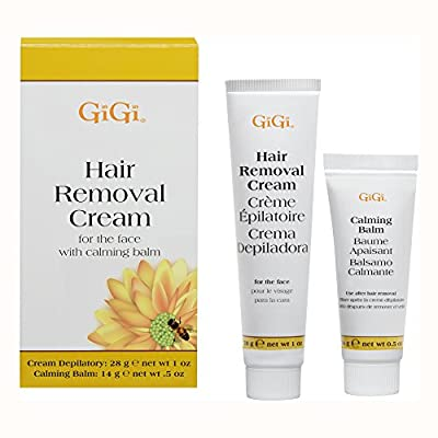 GiGi Hair Removal Cream for Face with Calming Balm by GiGi