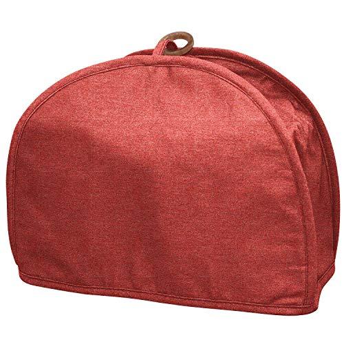 QEES - Funda para tostadora de 2 rebanadas, impermeable, tamaño universal, antihuellas dactilares, para horno tostador, a prueba de polvo, para mujer 12'Wx5.5'Dx9.5'H Color 2