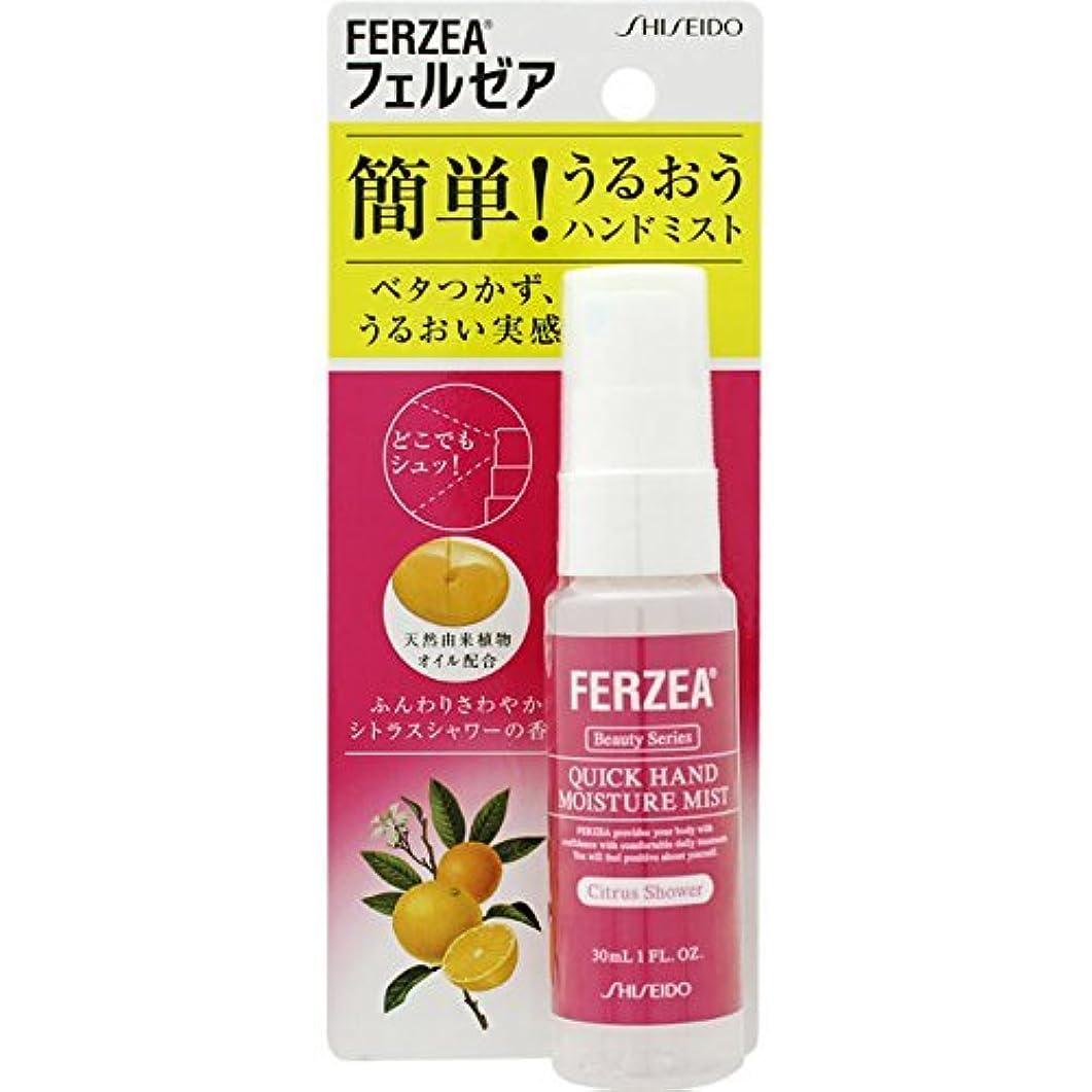 小さいデジタル日食資生堂薬品 フェルゼア ハンドモイスチャーミスト ふんわりさわやかシトラスシャワーの香り 30ml