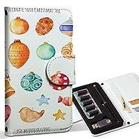 スマコレ ploom TECH プルームテック 専用 レザーケース 手帳型 タバコ ケース カバー 合皮 ケース カバー 収納 プルームケース デザイン 革 ツリー クリスマス オーナメント 013467