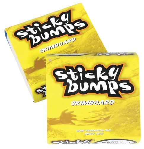 Sticky Bumps Cera original para skimboard (Warm/Tropical, 3 unidades)