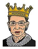 Balanced Co. Ruth Bader Ginsburg Enamel Pin Notorious RBG Pin