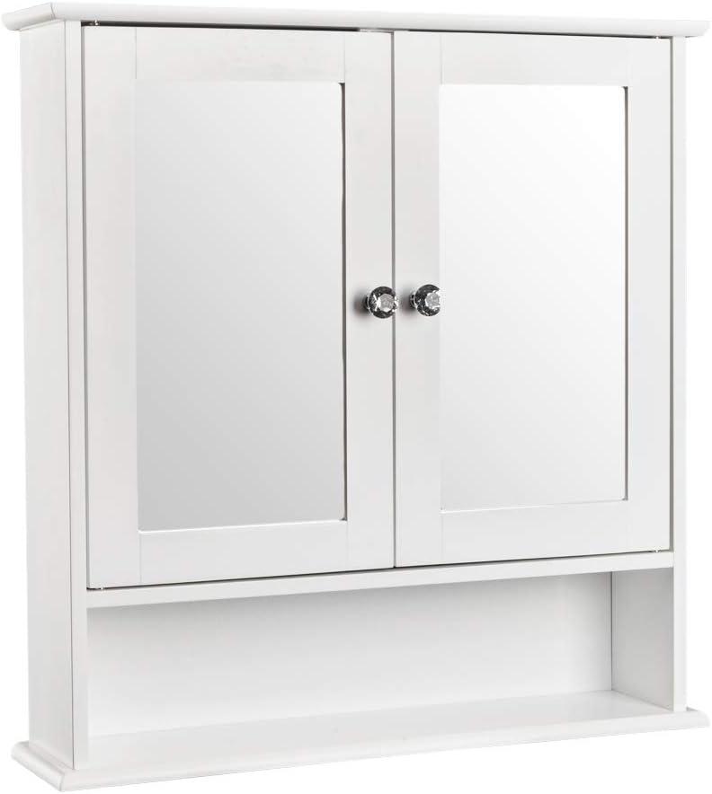Bonnlo Bathroom Wall Cabinet Modern Moun Door We OFFer at cheap prices Finally resale start Double Mirror