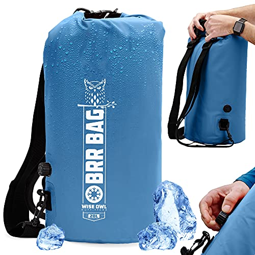 Wise Owl Outfitters Backpack Cooler - Ultra Insulated Waterproof Cooler Bag Back Pack - Leakproof Soft Lunch Backpack and Beach Cooler - 20L and 30L Sizes