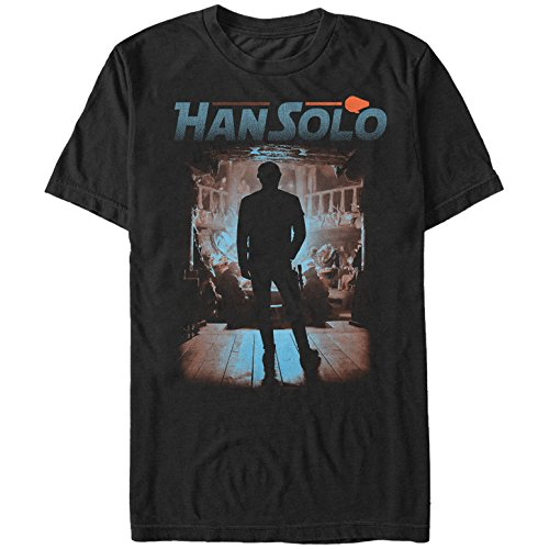 Fifth Sun Solo: A Star Wars Story Men's Gambling Den Black T-Shirt