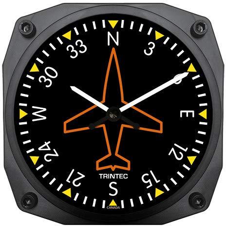 Trintec Directional Gyro Wall Clock