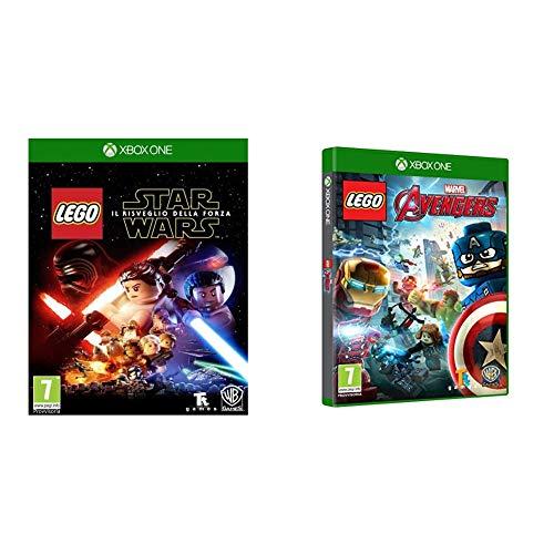 lego star wars xbox one Warner Bros Lego Star Wars: Il Risveglio della Forza Xbox One & Lego Marvel Avengers