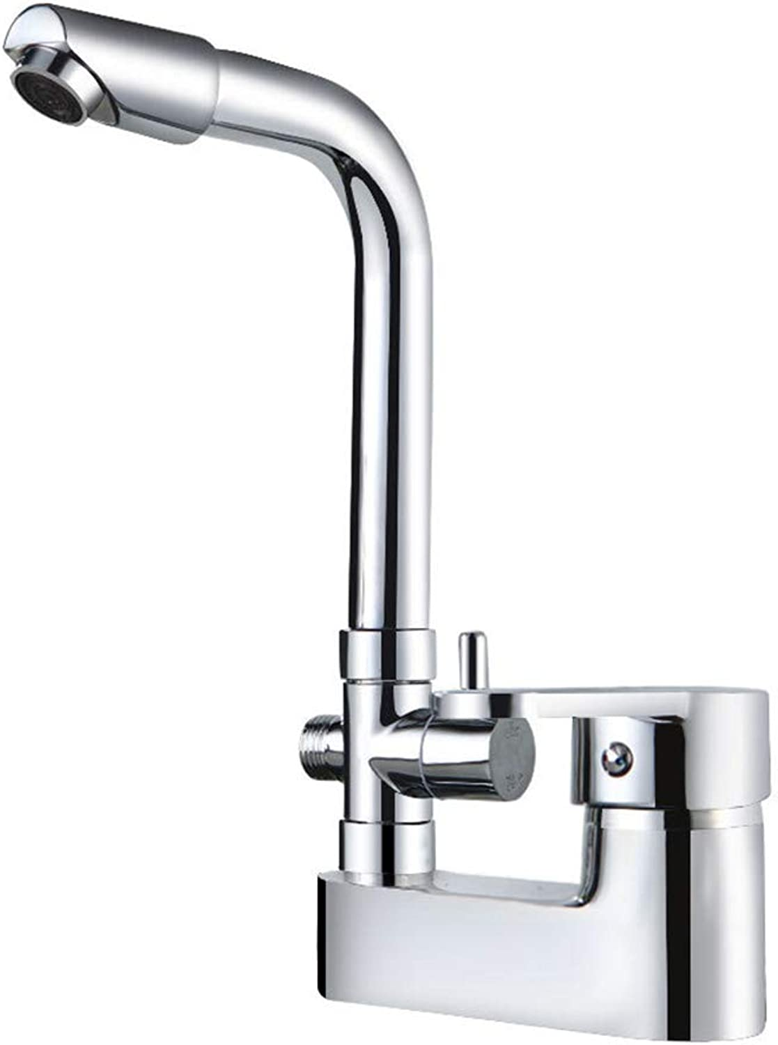 Asheng Faucet Kitchen Tap Single Handle Tall Body Kitchen Sink Mixer Tap Solid Brass Construction High Arch Stainless Steel Spout Nozzle