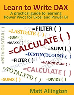 Allington, M: Learn to Write DAX