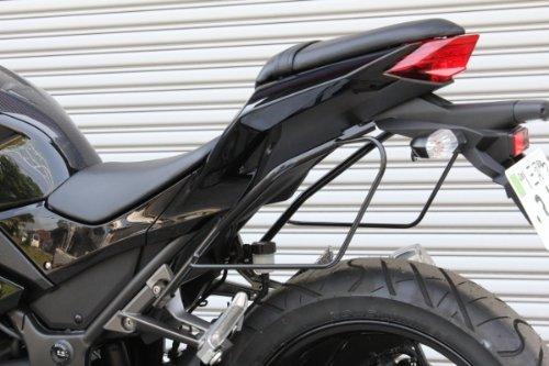 Read About PLOT saddle bag support steel black paint Ninja250 [JBK-EX250L] (13) PSD748