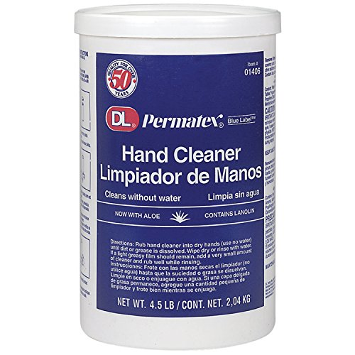 Permatex 01406 DL Blue Label Cream Hand Cleaner, 4.5 Pound (Pack of 1)