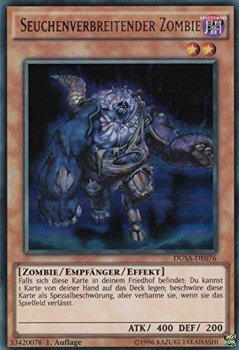 DUSA-DE076 - Seuchenverbreitender Zombie- Ultra Rare - Yu-Gi-Oh - Deutsch - 1. Auflage