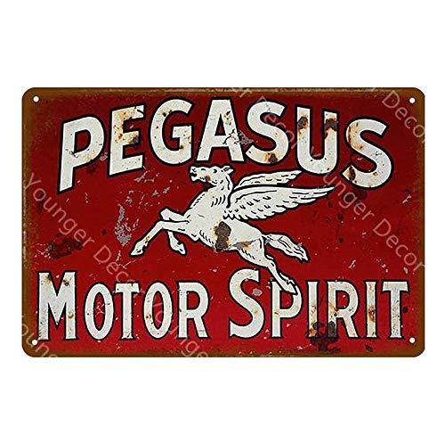 Shovv Metalen plaat Goed gas tent bord motor olie benzine metalen bord vintage garage wandbord bar Pub Club Home Decoratie 20*30cm #020