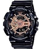 Casio Reloj Analógico-Digital para Hombre de Cuarzo con Correa en Resina GA-110MMC-1AER