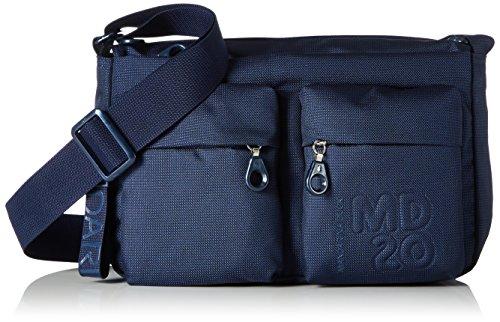 Mandarina Duck Md20 Minuteria, Borsa a Tracolla Donna, Blu (Dress Blue), 9x18x28 centimeters (B x H x T)