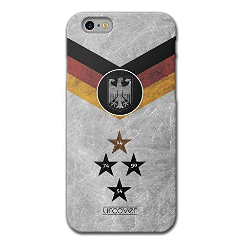 Funda iPhone 6 Plus / 6s Plus Copa del Mundo 2018 Football, Urcover Carcasa trasera Camiseta de Futbol [team Alemania] Protector Mundial de Fútbol Cover Apple iPhone 6 Plus / 6s Plus Case TPU flexible