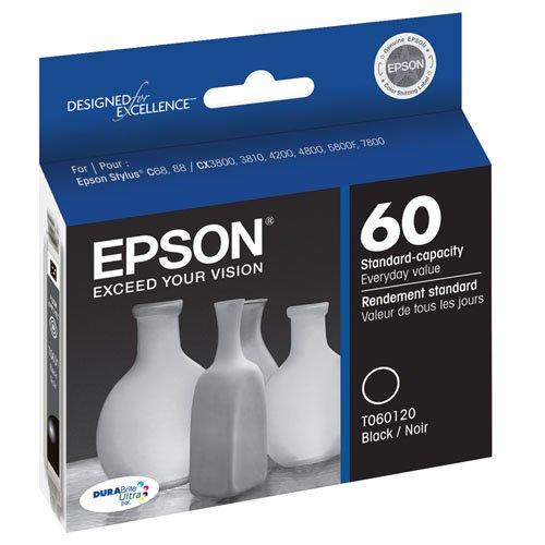 Epson T060120 DURABrite Ultra Black Standard Capacity Cartridge Ink Photo #3