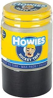 Howies Hockey Tape - Cinta de Cera para Hockey, 3 Transparentes, 2 Negras, 1 Cera