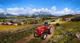 Revell- Model Set Junior 108-Farming Simulator Edition Maqueta para Principiantes con Sistema Easy Click, Kit de Inicio con Accesorios básicos, Color Plateado (67823)