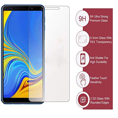 Sasta Bazar™ Online Exclusive original tempered glass for Samsung A7 2018