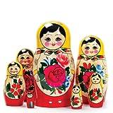 Tobar Russian Matryoshka Nesting Dolls (7 Pieces) Design/Color May Vary....